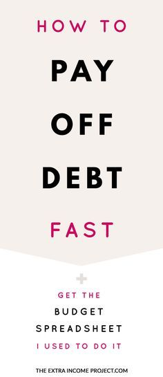 How To Pay Off Debt Quickly New YearNew Life Pinterest Debt