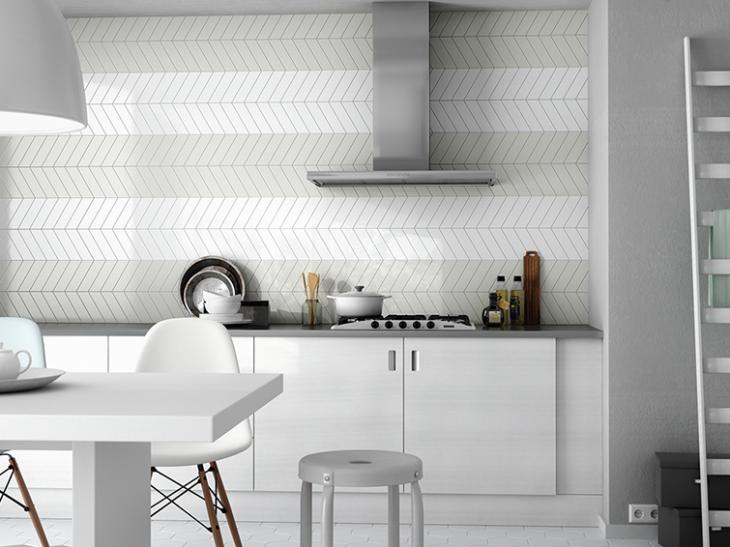 Capra Grestec Tiles Tile Supplier To Architects And Trade Grestec Tiles Are A Leading Uk Chevron Wall Modern Kitchen Tile Backsplash Modern Kitchen Tiles