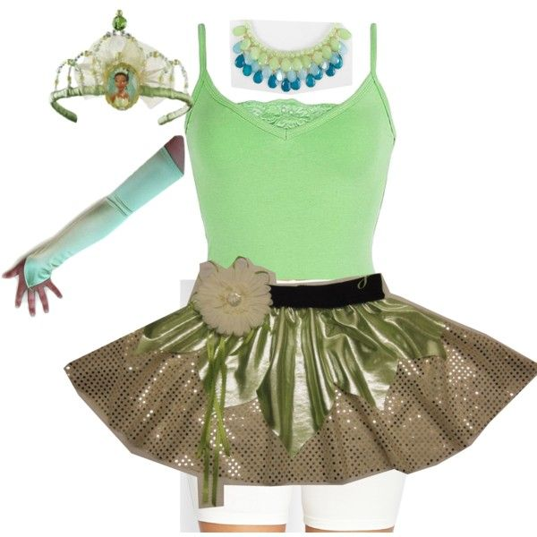 "Princess Tiana Outfit: ""Princess Tiana Running Costume"" By Foxyroxyblog On"