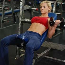 arm workouts for women 3 workouts to build size and