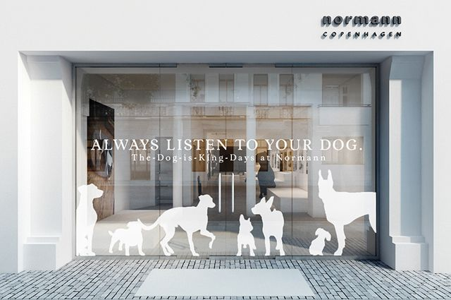 News Berlin S Hippest Hounds Cloud 7 Have Launched An Exclusive Pop Up At Normann Copenhagen S Uber Cool Pet Store Design Pet Store Ideas Dog Grooming Salons