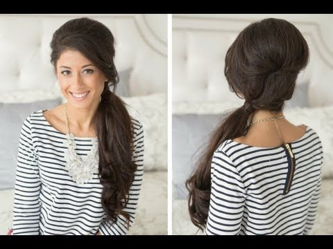 Retro Side Ponytail Tutorial