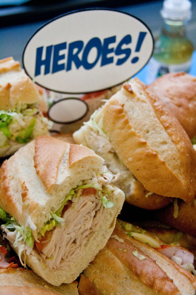 Superhero Food Signs #funfoods #superhero #birthdayparty
