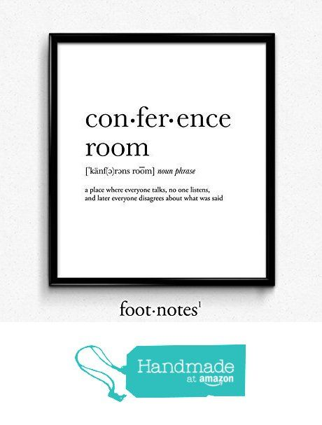Conference room definition, dictionary art print, dictionary art ...
