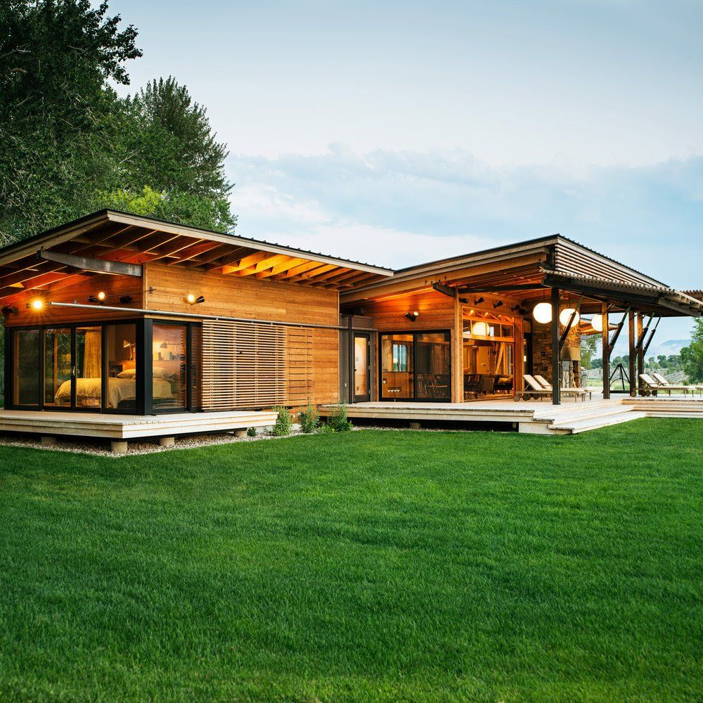 Modern Ranch Houses: This Ranch Home Is Prefab And Fab, Modular And Modern, Eco