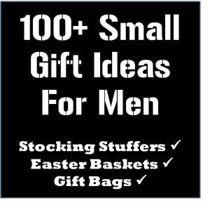 Lots of stocking stuffer ideasi think instead of a traditional 100 stocking stuffer easter basket and gift bag ideas for men thelifeoflulubelle who doesnt need a little help with gift giving ideas for the hubby negle Choice Image