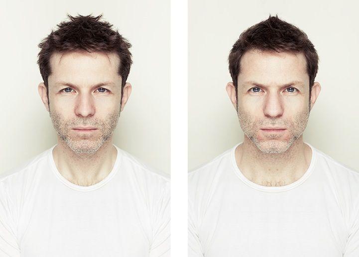 Photographer Explores Beauty Through Facial Symmetry - My Modern Met