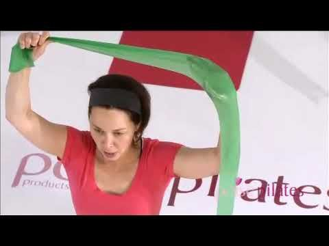 Pelvic Floor Exercise - Video 11: Stretch With Band - Poise Pilates - YouTube