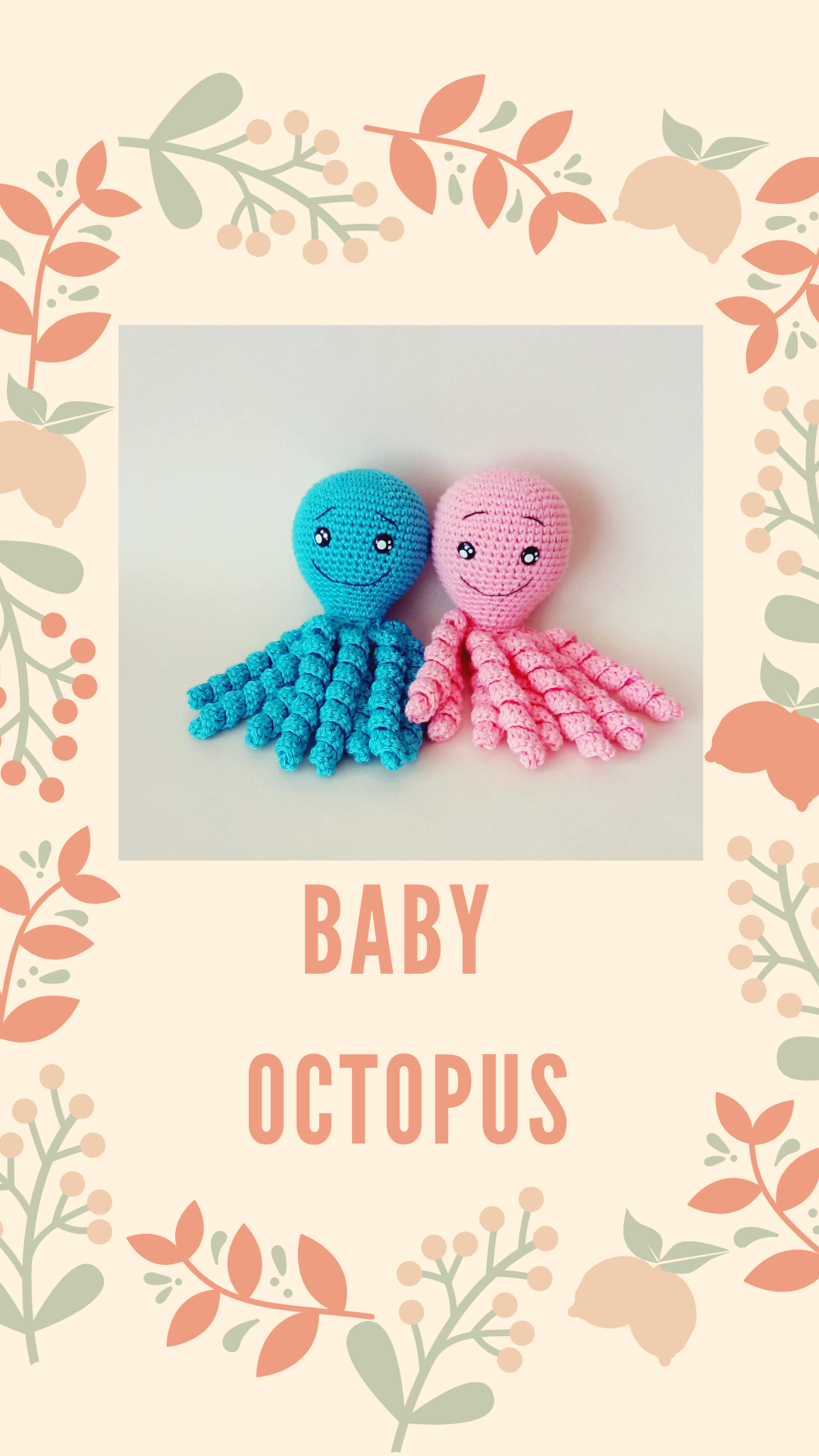 Crochet octopus toy for premature babies #crochetoctopus Crochet octopus toy for premature babies, knitted octopus amigurumi montessori toys,cute small octopus, children's room decor #crochetoctopus