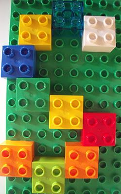 Learning Letters with Legos via @MakeDoAndFriend