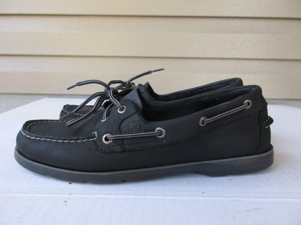 sider men shoes 8.5 M Black Leather