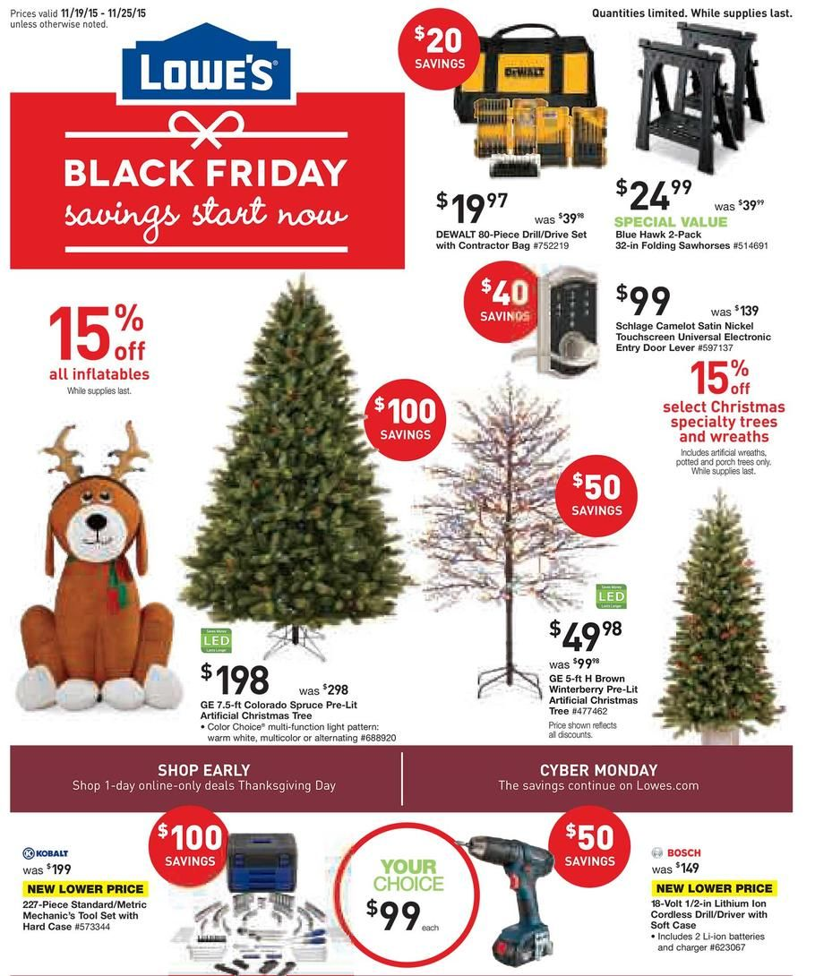 LOWES CHRISTMAS TREE COUPON