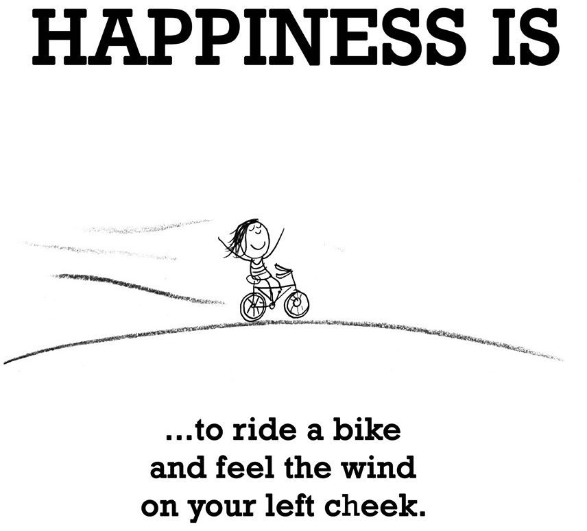 Happiness Is Riding A Bike Quote Via Www Lastlemon Com Bike Quotes Bicycle Quotes Cycling Quotes