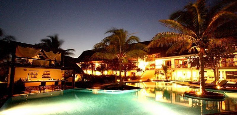 The Pool At Night Le Reve Hotel Spa In Playa Del Carmen Riviera Maya Mexico