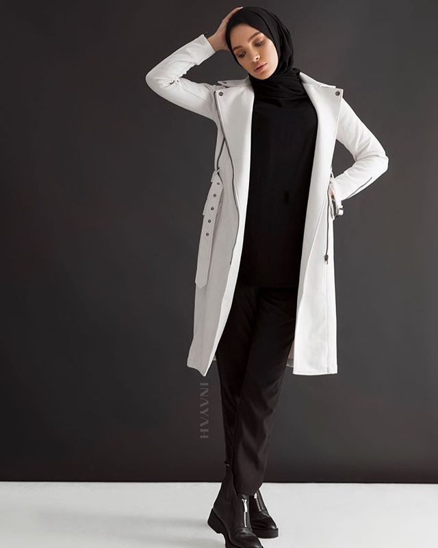 Our suede coat with silver toned finishing will give you both warmth and comfort throughout the bitterly cold months. Oyster Suede Zip Detail Coat www.inayah.co