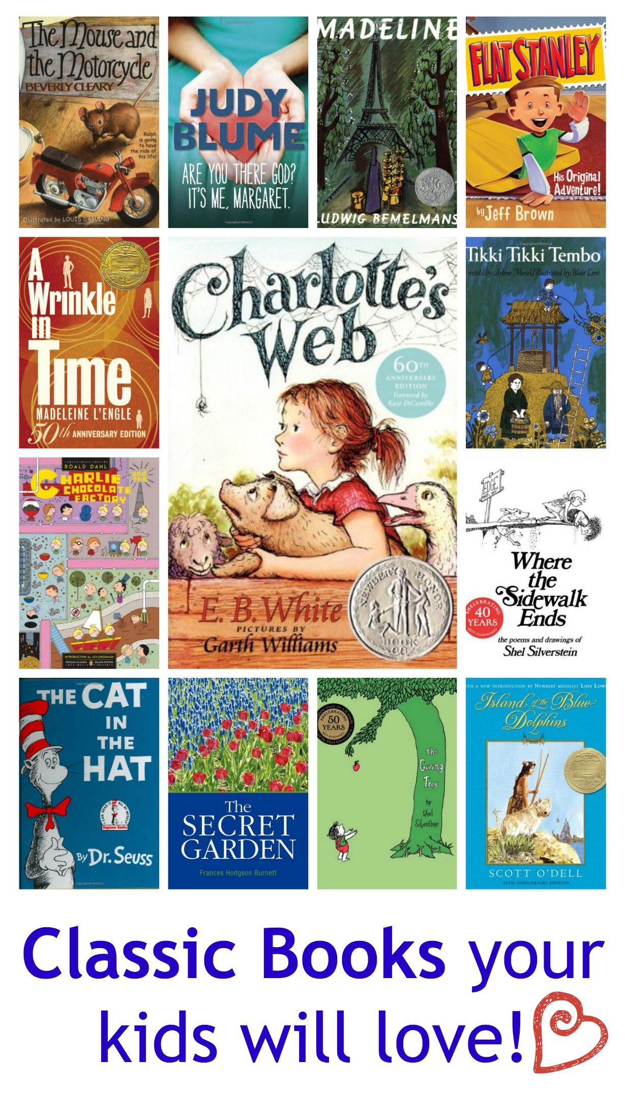 14 Classic Books For The Kids Brings Back Lots Of Great Memories Childrens Books Best Children Books Classic Childrens Books