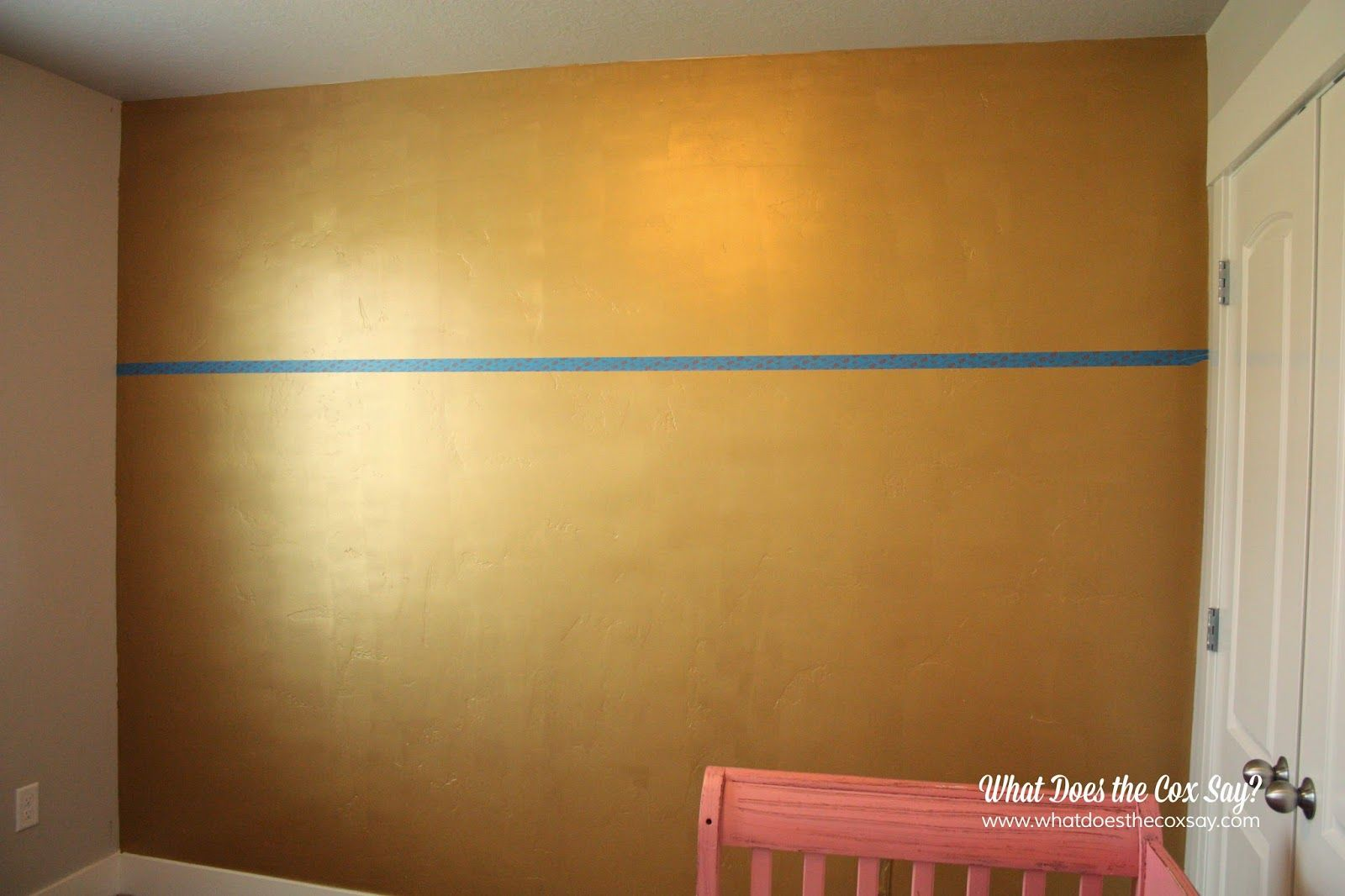 Paint color-metallic gold Martha Stewart line from home depot ...