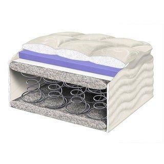 Photo of Wolf Posture Premier 9-inch Euro Top Mattress and Platform Bed Set (Full – Plush), Grey, Wolf Mattress