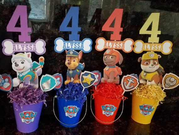 Pleasant Paw Patrol Centerpieces Set Of 8 Products In 2019 Paw Download Free Architecture Designs Scobabritishbridgeorg