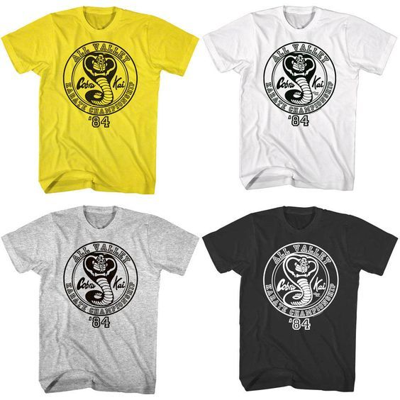 d2655e3ab Karate Kid Cobra Kai All Valley Championship 1984 Men's T Shirt #karatekid # karate #karatekidfashion #karatekidtshirt #cobrakai #waxonwaxoff #sensei  #dojo ...