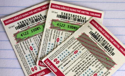 Nạp tiền qua thẻ cào rất phổ biến