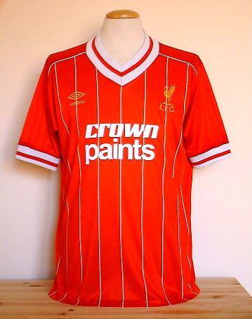 2263e05e1 LIVERPOOL 1984 UMBRO HOME SHIRT | Liverpool FC | Liverpool fc kit ...