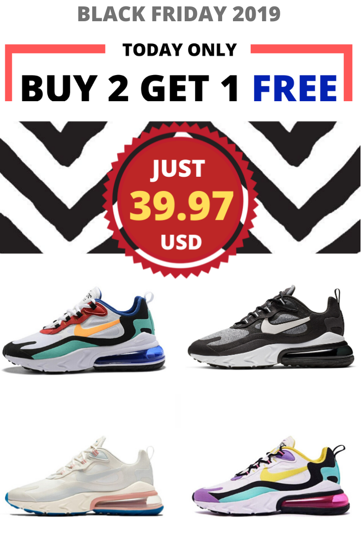 Nike Air Max 270 React Original | Nike air max, Air max 270 ...