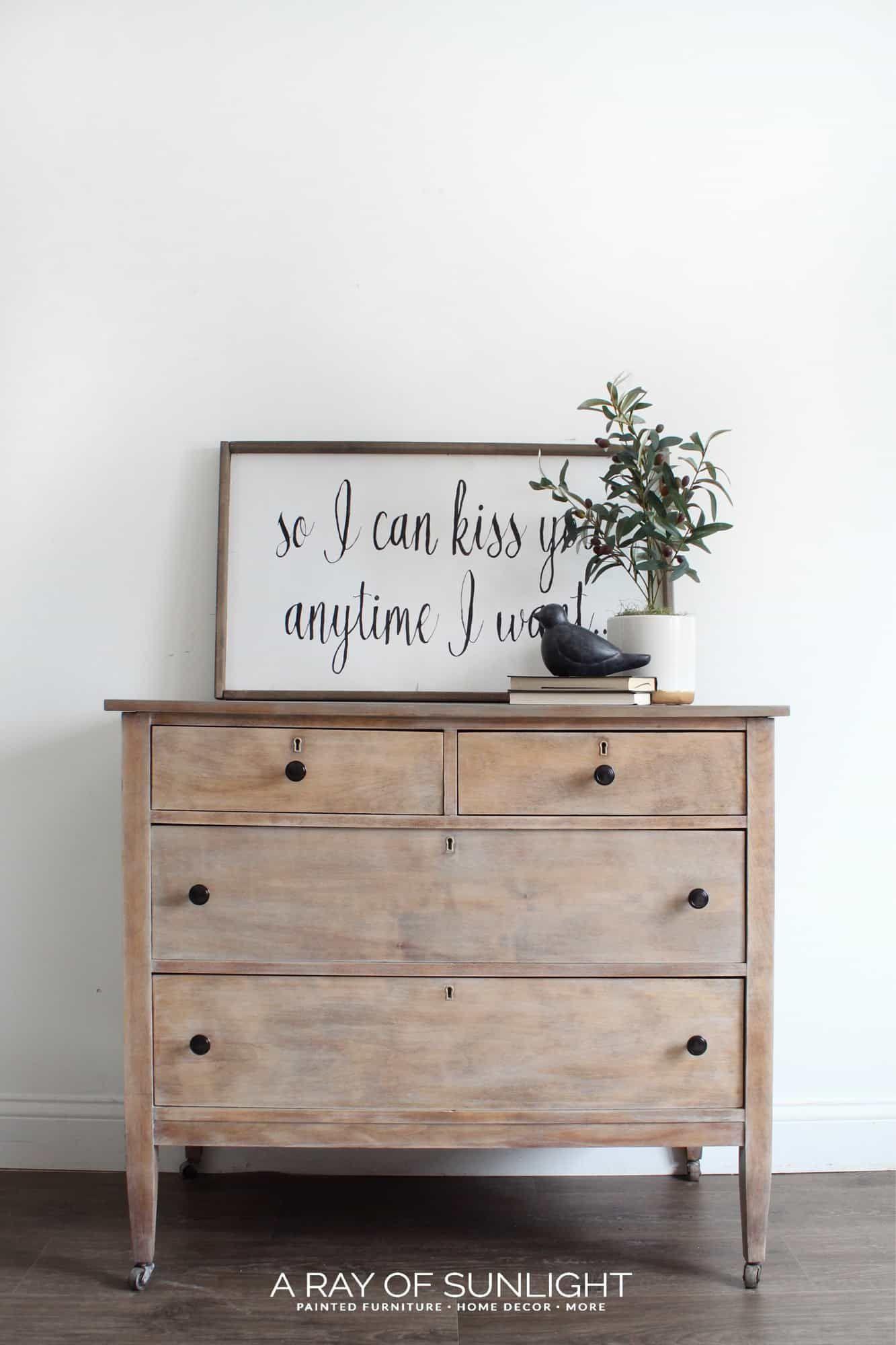 Weathered Wood Dresser