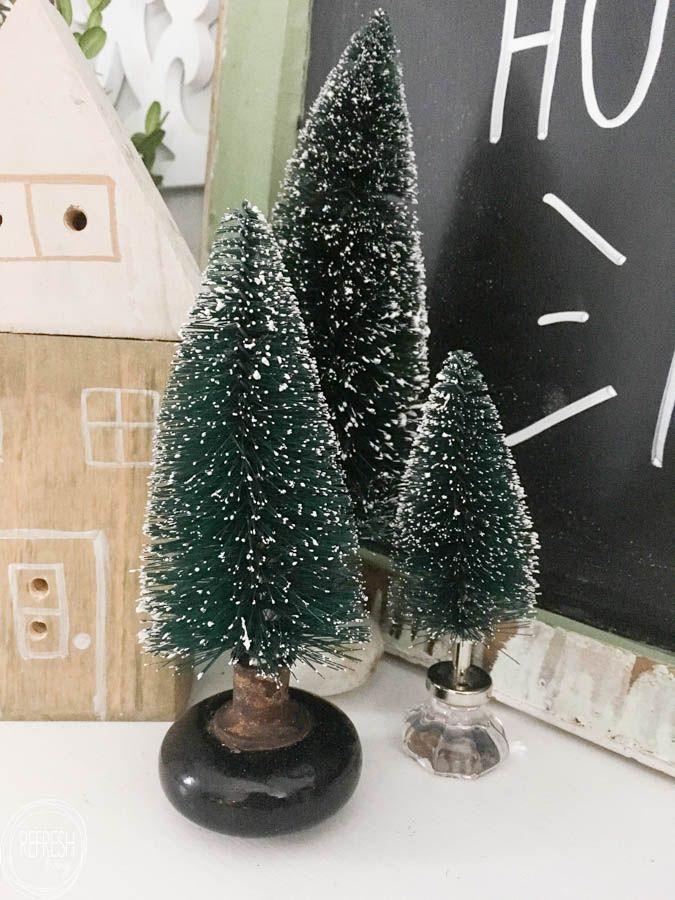 Unique Ways to Use Bottle Brush Christmas Trees Bottle brush trees