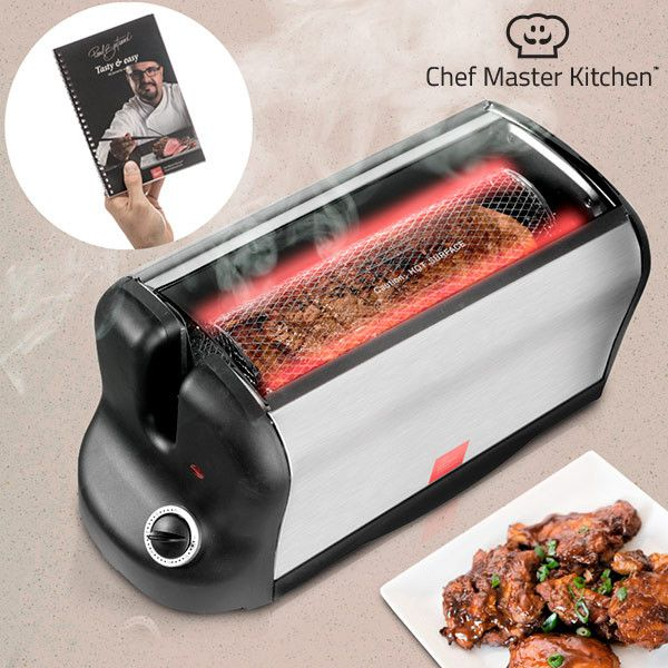 Smart Rotisserie S Portable electric oven with cookbook 600W