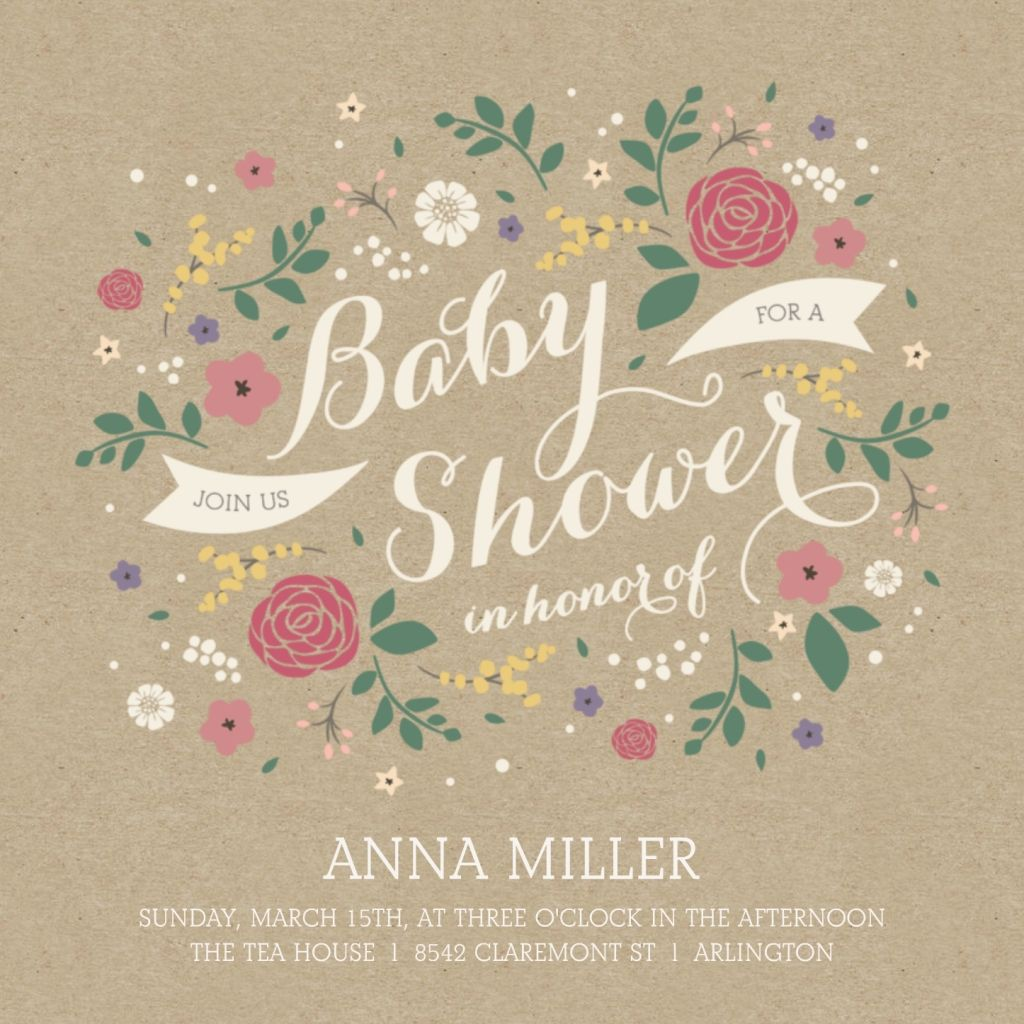 Event Title Ideas For Baby Shower With Images Custom Baby Girl
