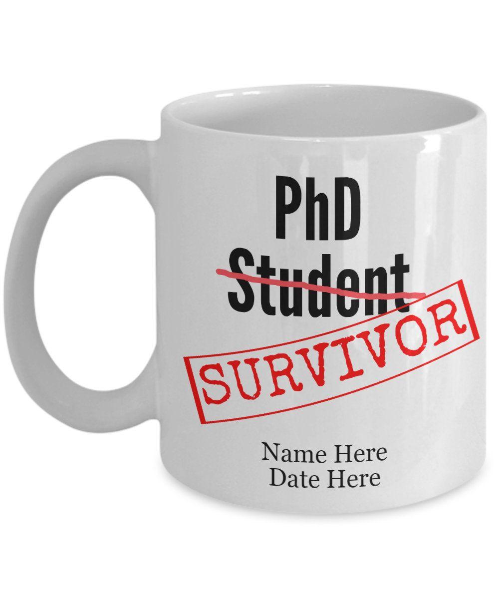 Funny phd gift for phd graduation phd mug phd graduation