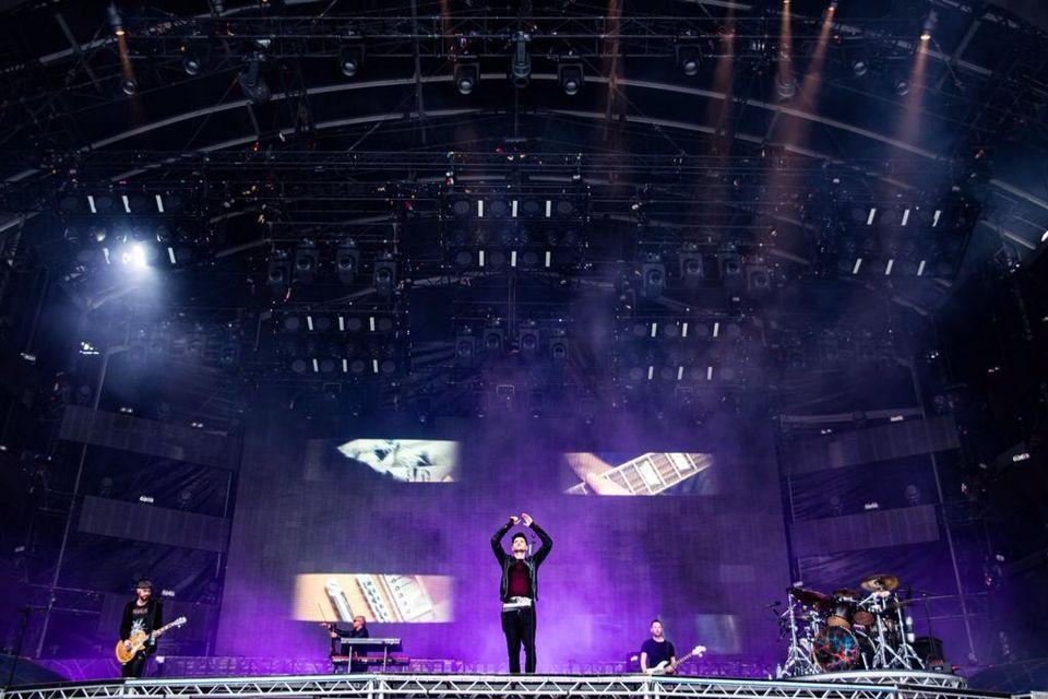 The Script Live from Croke Park, Dublin, Ireland - 20/06/15 ❤️