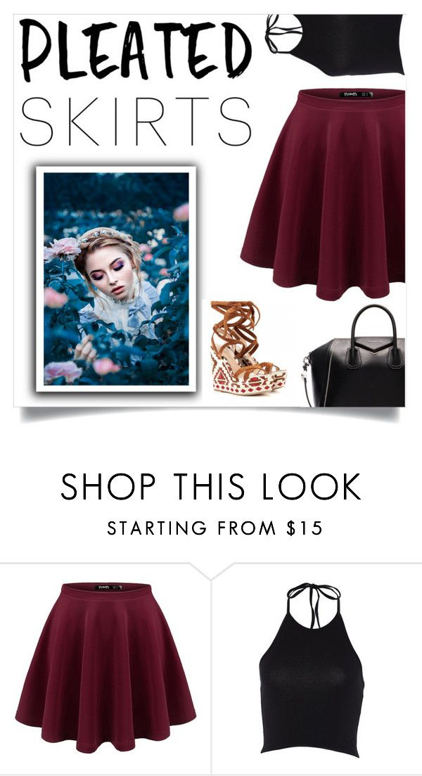 """If I was a pirate girl"" by drummergirl95 ❤ liked on Polyvore featuring Givenchy and pleatedskirts"