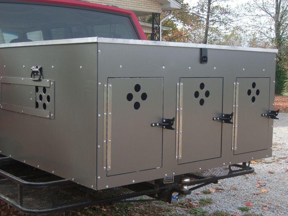 Custom Aluminum Hunting Dog Box For Your Atv Utv Truck Or