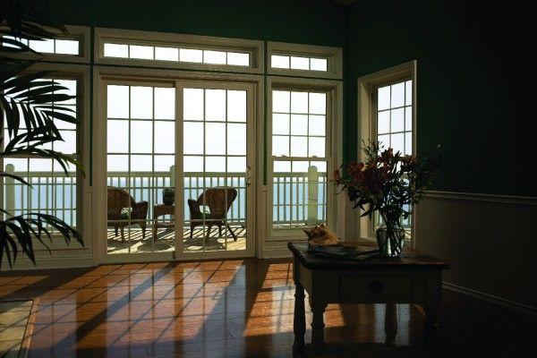 Simonton Sliding Doors >> Simonton Sliding Patio Doors Interior View Overlooking