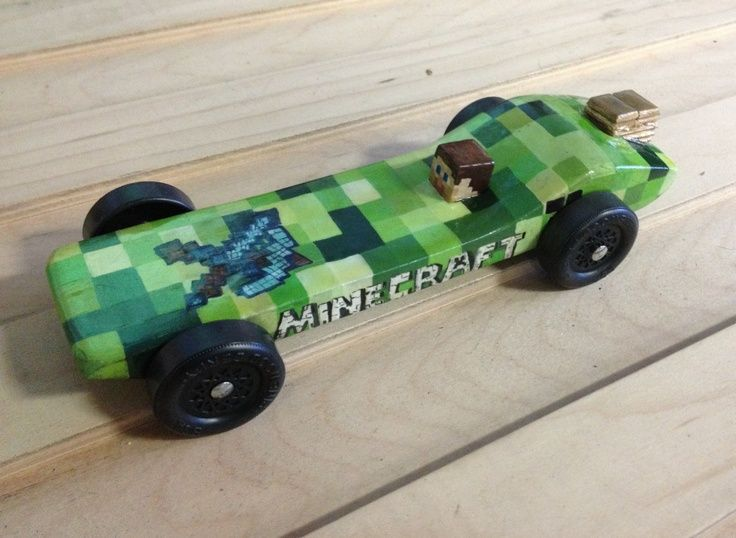minecraft pinewood derby cars - Google Search | Cub Scouts | Pinterest
