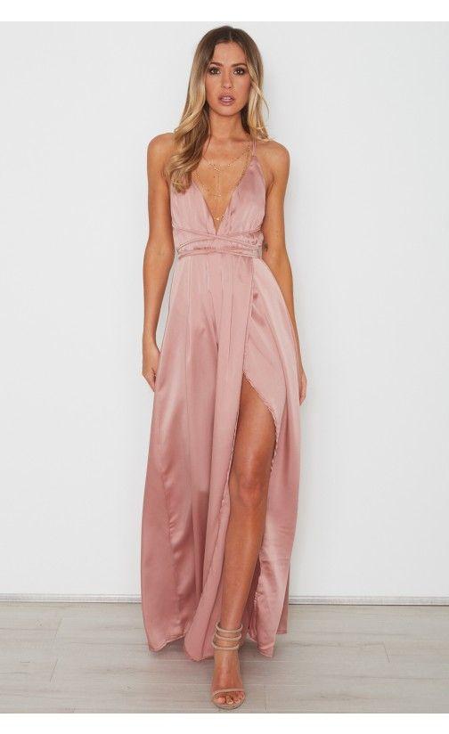 34dd0e56048c Akela Maxi Dress Dusty Pink