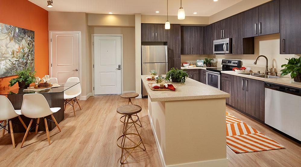 Ascent Apartments In San Jose Media Gallery Used Kitchen Cabinets Types Of Kitchen Cabinets Modern Kitchen Cabinets