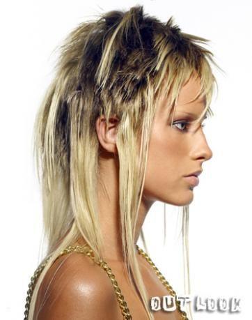 Peinados pelo corto llongueras