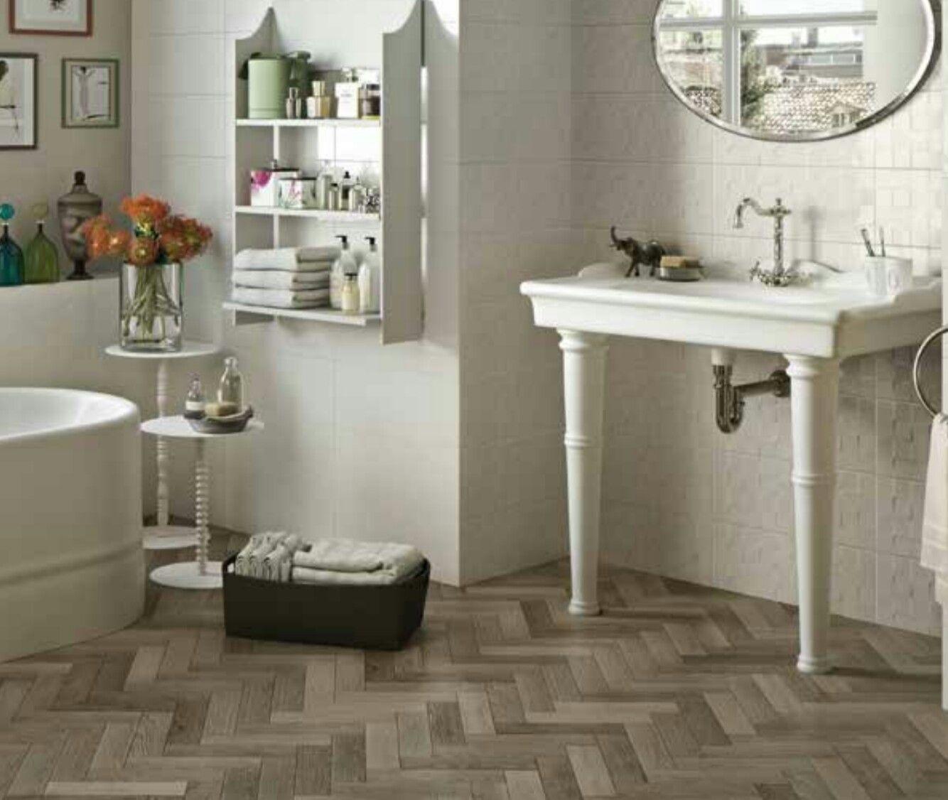 french parquet 7x28 taupe  bathroom floor tiles bathroom