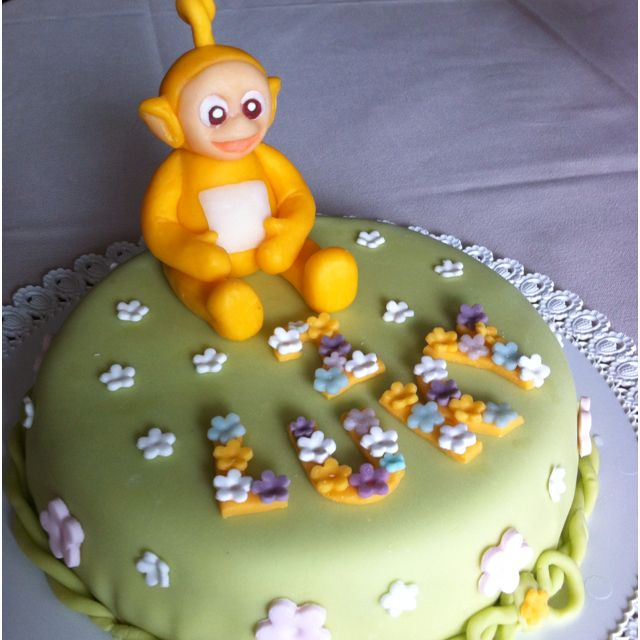 Teletubbies Lala Cake