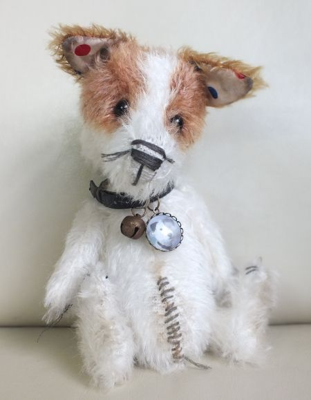 """Nick Nack"" the Jack Russell by Ragtail n Tickle."