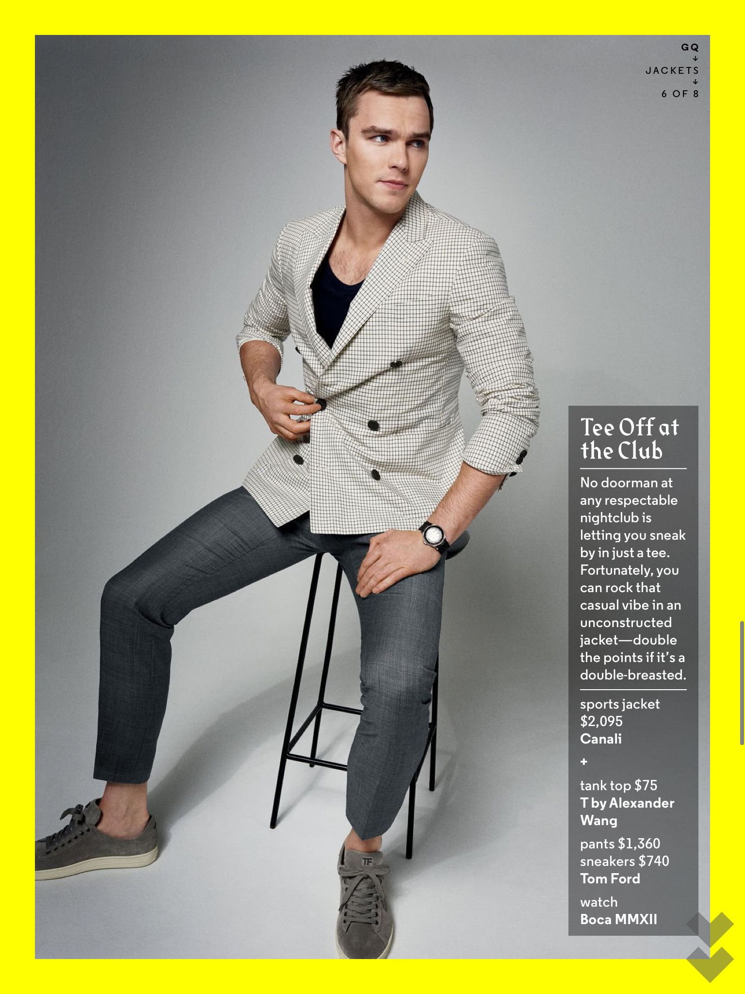 Nicholas Hoult For GQ (With Images)