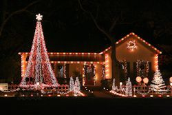 20 Mega Tree Kit For Outdoor Decorations Christmas Lights Outside Outside Christmas Decorations Decorating With Christmas Lights