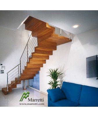 Escalier suspendu cassiop e vente escaliers droits et 1 for Tarif escalier bois