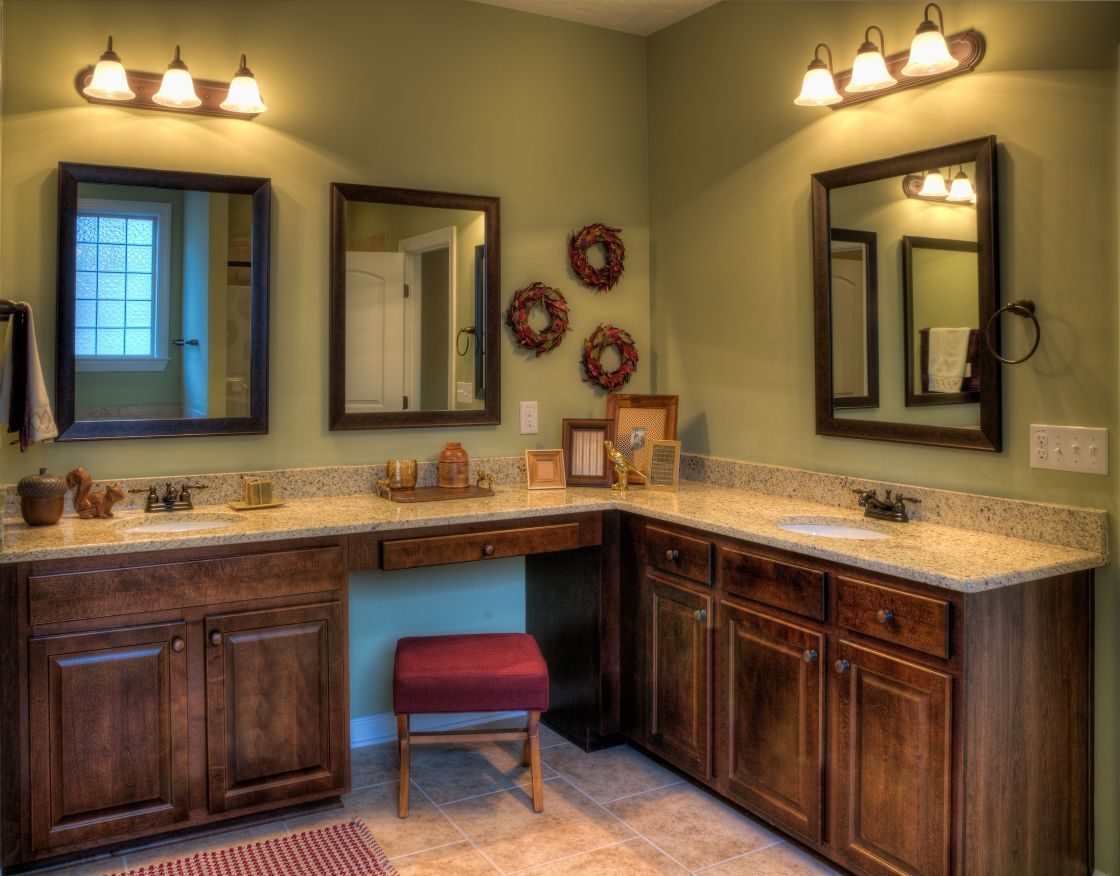 Rustic Bathroom Double Vanity latest posts under: bathroom vanity lights | ideas | pinterest