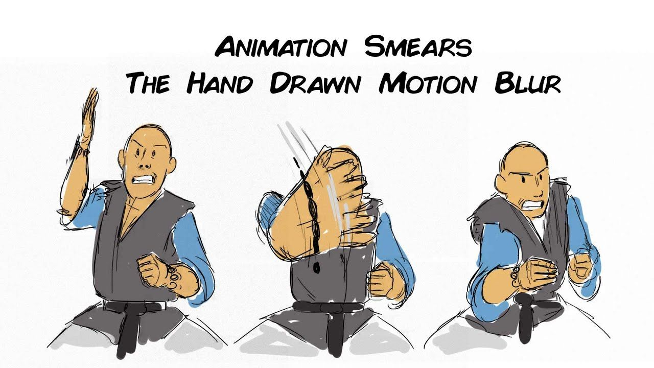 Animation Smears The Hand Drawn Motion Blur Motion Blur How