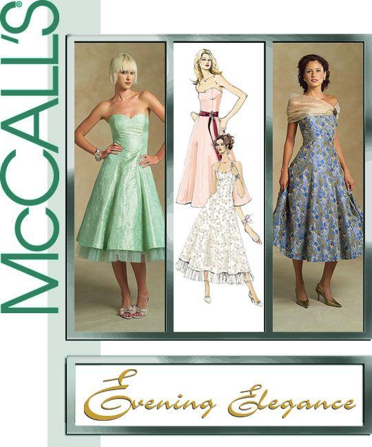 Prom Dress Sewing Pattern - Ocodea.com