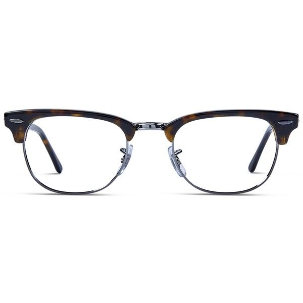 af74149a28d Ray-Ban 5154 Tortoise w Silver ( 175) ❤ liked on Polyvore featuring  accessories